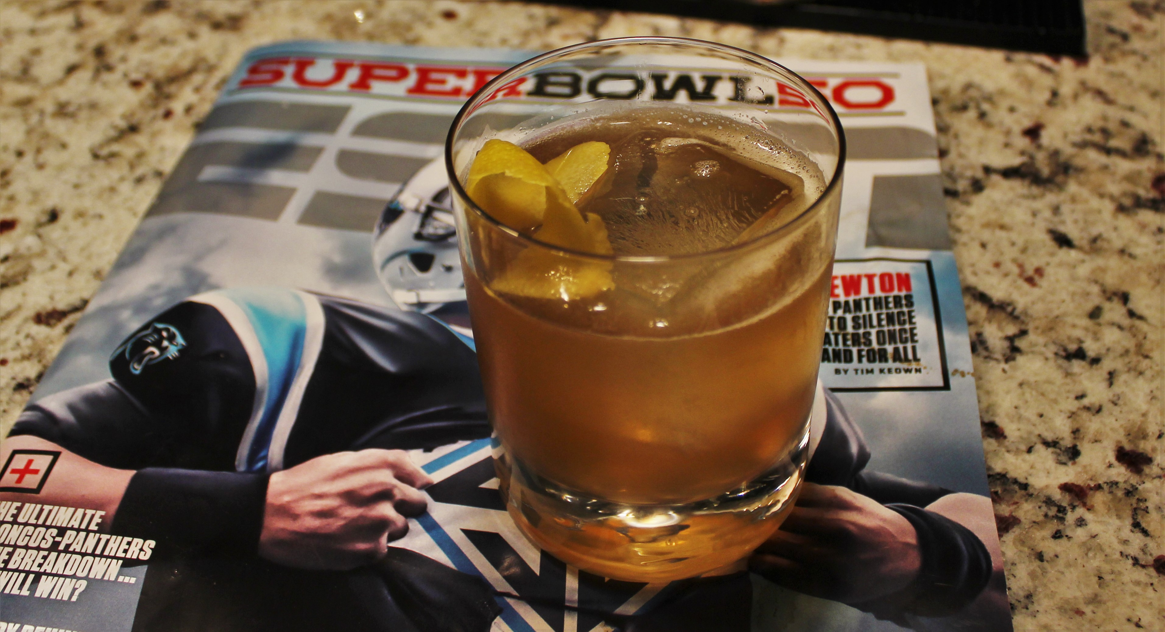 This, That and the Third: The Official Cocktail of Super Bowl 50